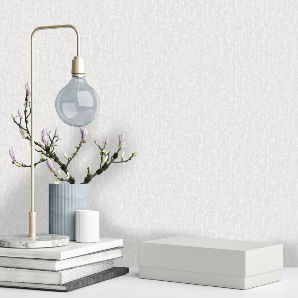 Holden Decor Nastro Dove Grey Texture 35713 Wallpaper